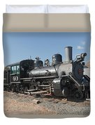 Engine 40 In The Colorado Railroad Museum Duvet Cover