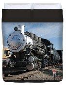 Engine 4455 In The Colorado Railroad Museum Duvet Cover