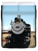 Engine 494  Duvet Cover by Jeff Swan