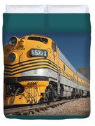 Engine 5771 In The Colorado Railroad Museum Duvet Cover