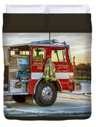 Engine Company 701 Duvet Cover