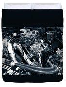 Engine Details Duvet Cover