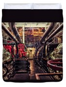 Engine Room Queen Mary 02 Duvet Cover