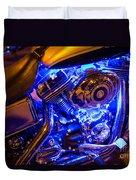 Engine Shimmer Duvet Cover