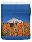 2d10688-engineer Mountain In Fall  Duvet Cover