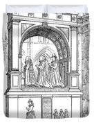England Church Monument Duvet Cover