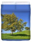 English Black Walnut Tree Switzerland Duvet Cover