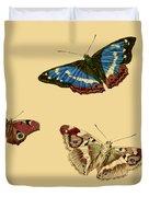 English Butterflies Duvet Cover