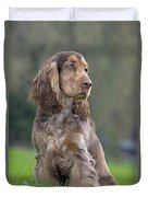 English Cocker Spaniel Dog Duvet Cover