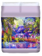 English Cottage Duvet Cover by Jane Small