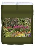 English Garden In Summertime Duvet Cover