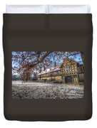 English In Germany Duvet Cover