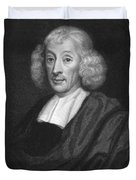 English Naturalist John Ray Duvet Cover