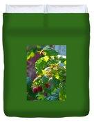 English Raspberries Duvet Cover