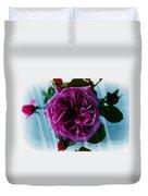 English Rose - Purple Rose - Fragrant Rose Duvet Cover
