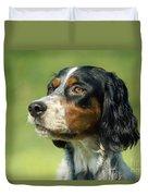 English Setter Dog Duvet Cover