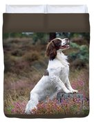English Springer Spaniel Dog Duvet Cover