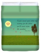 Enjoy The Sunshine Duvet Cover
