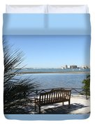 Enjoy The View Duvet Cover