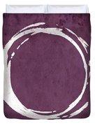 Enso No. 107 Magenta Duvet Cover