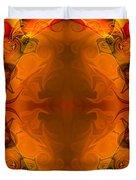 Entertaining Energy Abstract Pattern Artwork By Omaste Witkowski Duvet Cover
