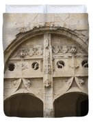 Entrance Fontevraud Abbey- France Duvet Cover