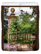 Entrance Pillar Duvet Cover