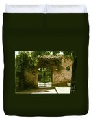 Entrance To Romeo And Juliet House Duvet Cover