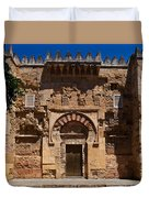 Entrance To The 10th Century Mezquita Duvet Cover
