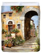 Entrata Al Borgo Duvet Cover