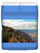 Environment Of The Canyon Duvet Cover