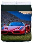 Enzo Ferrari Bold Duvet Cover