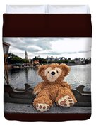 Epcot Bear Duvet Cover