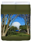 Epcot Globe Walt Disney World Duvet Cover