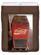 Epcot Old Coke Duvet Cover