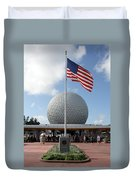 Epcot Usa Duvet Cover