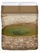 Ephedra Spring In West Thumb Geyser Basin Duvet Cover
