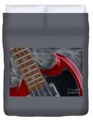 Epiphone Sg Bass-9205-fractal Duvet Cover