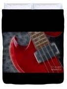 Epiphone Sg Bass-9222-fractal Duvet Cover