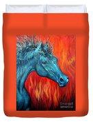 Equus Diabolus Diablo Duvet Cover