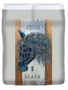 Equus Glass Co. Duvet Cover
