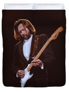 Eric Clapton Painting Duvet Cover