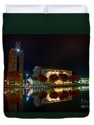 Erie Canal In Pittsford Ny Duvet Cover