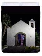 Ermita San Telmo. Puerto De La Cruz By Night Duvet Cover