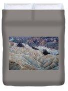 Erosional Landscape - Zabriskie Point Duvet Cover