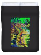 Erotic Devoted To To Dance And Music Duvet Cover