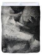 Erotic Sketchbook Page 1 Duvet Cover