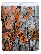 Eruption I Duvet Cover