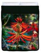 Erythrina Speciosa Duvet Cover