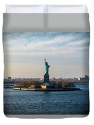 Escape From Ny Duvet Cover